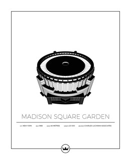 Posters Of Madison Square Garden - New York